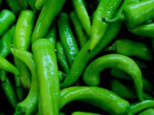 yeşil biber